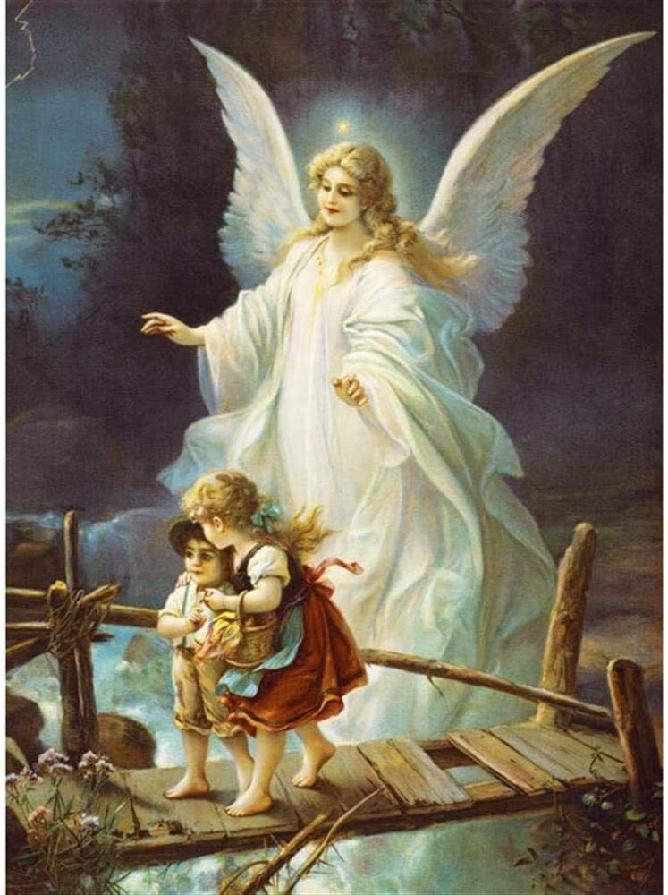 Sylty Jigsaw Puzzle 300 Piece Game Toys Gift Guardian Angel Funny Children Kid Wooden Puzzle Great Holiday Leisure Family Interactive Games
