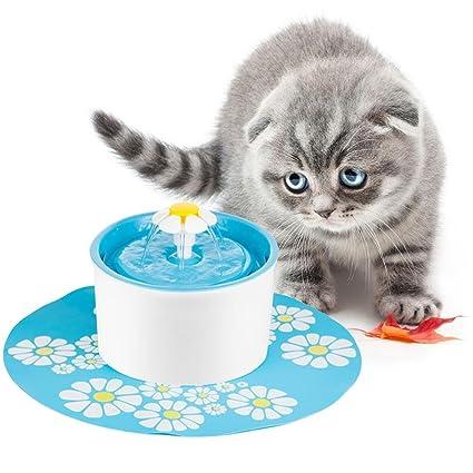 Leegoal(TM) Automático Fuente de Agua para Mascotas Gatos/Perros,dispensador de