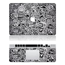 """Vati Leaves Removable Cool Cartoon Animation Protective Full Cover Vinyl Art Skin Decal Sticker Cover for Apple MacBook Pro Retina 13.3"""" inch (A1425/A1502)"""