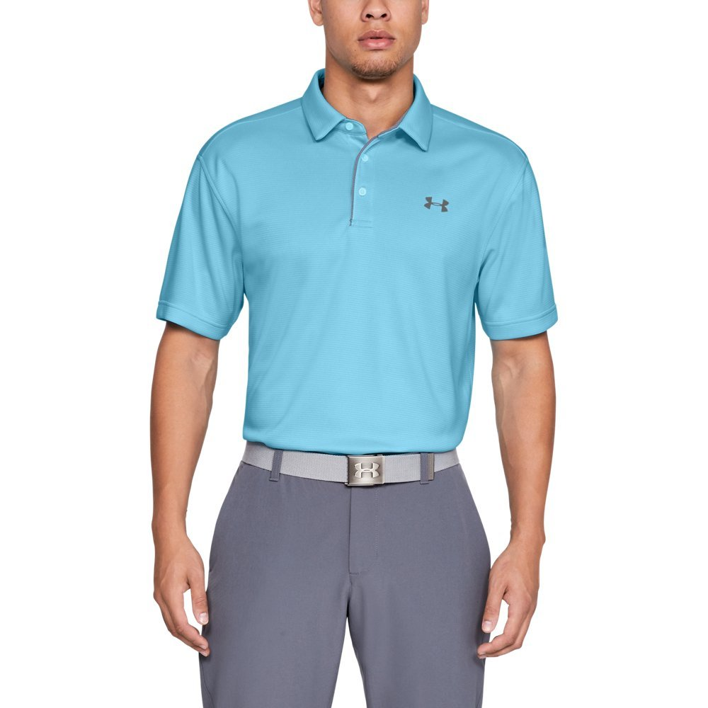 Under Armour Men's Tech Polo, Venetian Blue (448)/Graphite, XX-Large by Under Armour