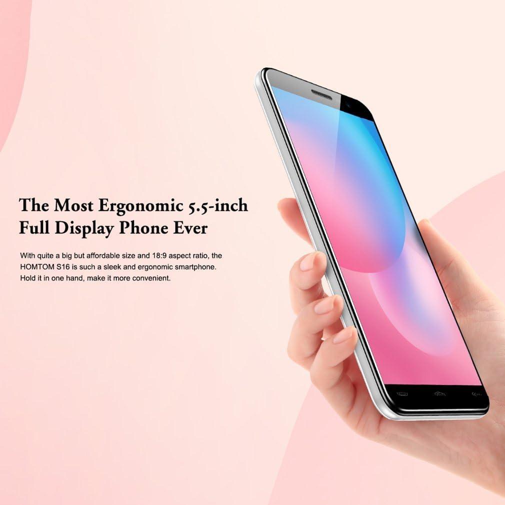 HOMTOM S16 Smartphone Libre Android 7.0, 5,5 pulgadas(18:9 ...