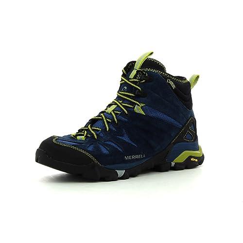 Merrell - capra MID Gore-Tex para hombre Multi zapatillas de deporte (azul/
