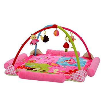 Baby activity gym play mat newborn toddler toy playland with accessories for infants and toddlers
