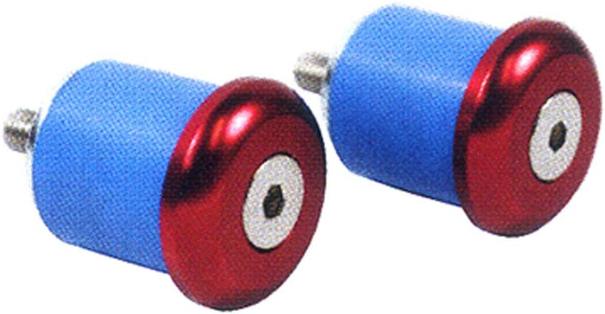 RED NITTO Nitto color bar end caps EC-01