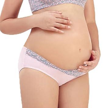 Fascigirl Ropa Interior De Maternidad Ropa Interior De Cintura Baja Moda Debajo De La Ropa Interior