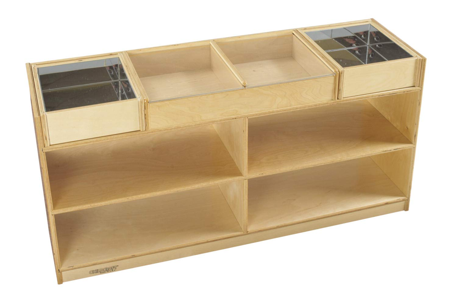 Childcraft Mobile Science Exploration Station, 47-3/4 x 14-1/4 x 24 Inches