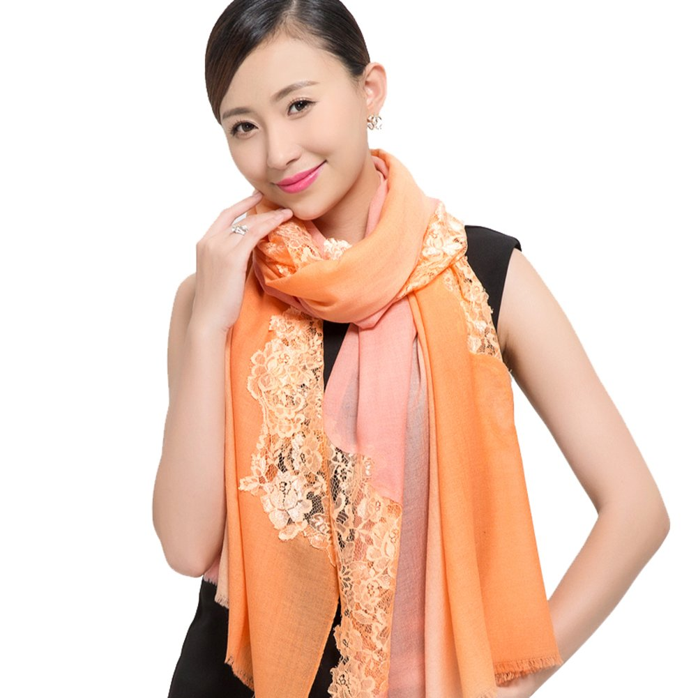 autumn winter scarf Lady air conditioning in warm Joker lace shawl-E One Size