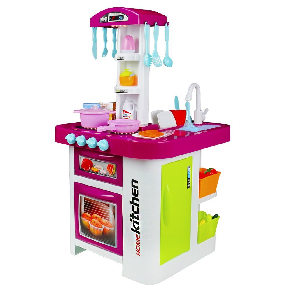 Amazon.com: Play Kitchen with Lights & Sounds with \
