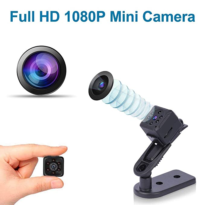 Amazon.com : Spy Camera, Hidden Camera, Nanny Cam, Mini Camera, Secret Camera, spy cams, Best Digital Small HD Super Portable with Night Vision and Motion ...