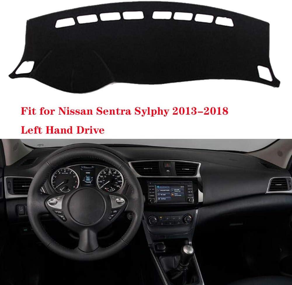 N2Qnice Car Auto Dashboard Cover for Ford Explorer 2011 2012 2013 2014 2015 2016 2017 2018 Left Hand Drive Dashmat Pad Carpet Dash Mat