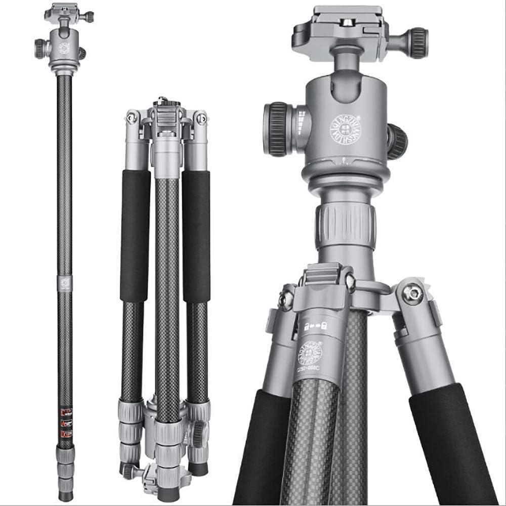 Ribbed Cross Carbon Fiber Bracket Stable Travel Photography for DSLR Cameras Zhengpin Portable Camera Tripod SLR Camera Tripod