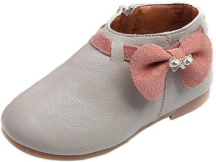 Weestep Toddler//Little Kid Girls Boys Martin Boots Side Zipper
