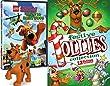 Holiday Scooby-Doo Lego Mini Figure & Festive Follies Trio of Fun Tom & Jerry / Yogi Bear All Stars Animated Cartoons + Lego Haunted Hollywood with Toy Set
