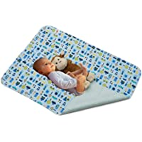 """KaWaii Baby Waterproof Bamboo Change Mat, Reusable, Changing Pad for Bed,Travel, Bed and Stroller - 27.5"""" x 31.5"""" for 1…"""