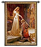 Fine Art Tapestries The Accolade Large Wall Tapestry 5816-WH 52 inches wide by 71 inches long, 100% cotton