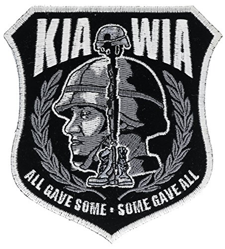 KIA WIA All Gave Some 4 inch Iron On Patch HTL7327