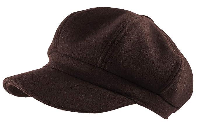 Cappy Herren REDRUM Cap Kappe Basecap Klettverschluss Mütze braun Damen Unisex