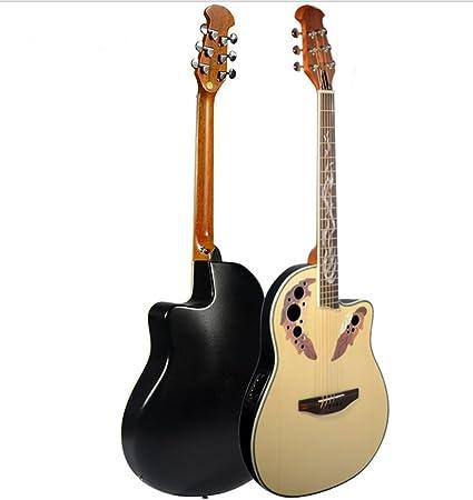Uva de 40 pulgadas agujero Balada Box Turtle Shell Folk – Guitarra ...