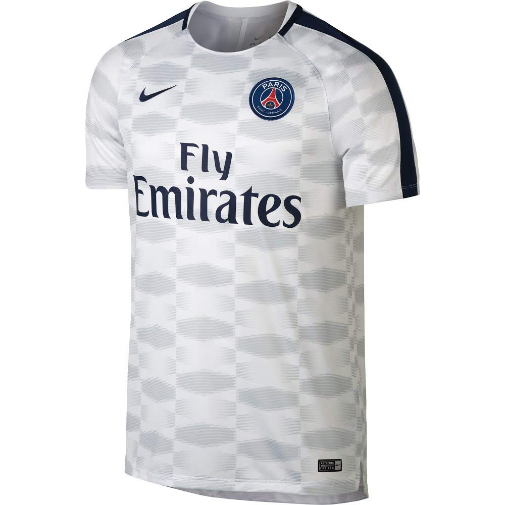 competitive price 85d21 22cc8 Amazon.com : Nike PSG GX Squad Top 2017/2018 - White : Shoes