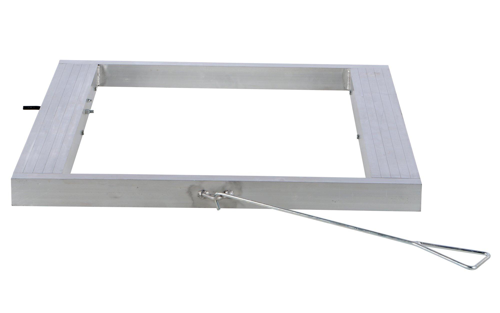 Vestil DOL-4248-6T Pallet Dolly, Tilting, Aluminum, 4,000 lb. Capacity, 4-1/8 x 42 x 48'' by Vestil