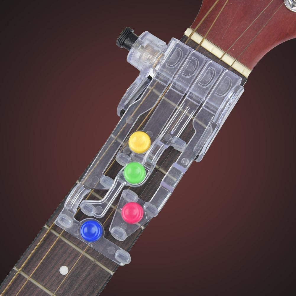 Durable Smoother Performance for Training Beginner Performance Guitar Lovers Alinory Easy to Use Guitar Pickup Guitar Learning System Tool
