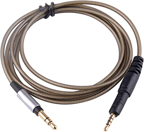 Silver Plated Audio Cable For audio-technica ATH-M50x M40x M70x With remote mic