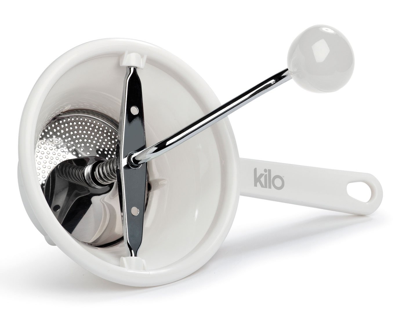 Kilo Baby Food Puree Mill Mouli in White Kilo @ WOWOOO