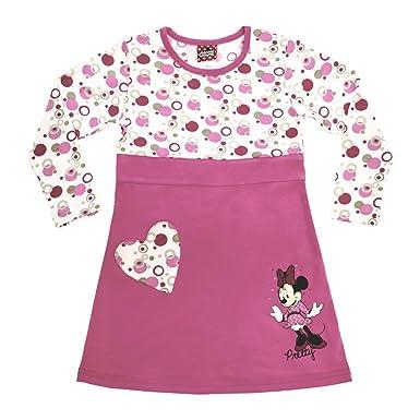 Kleines Kleid Minnie Mouse Langarm Body