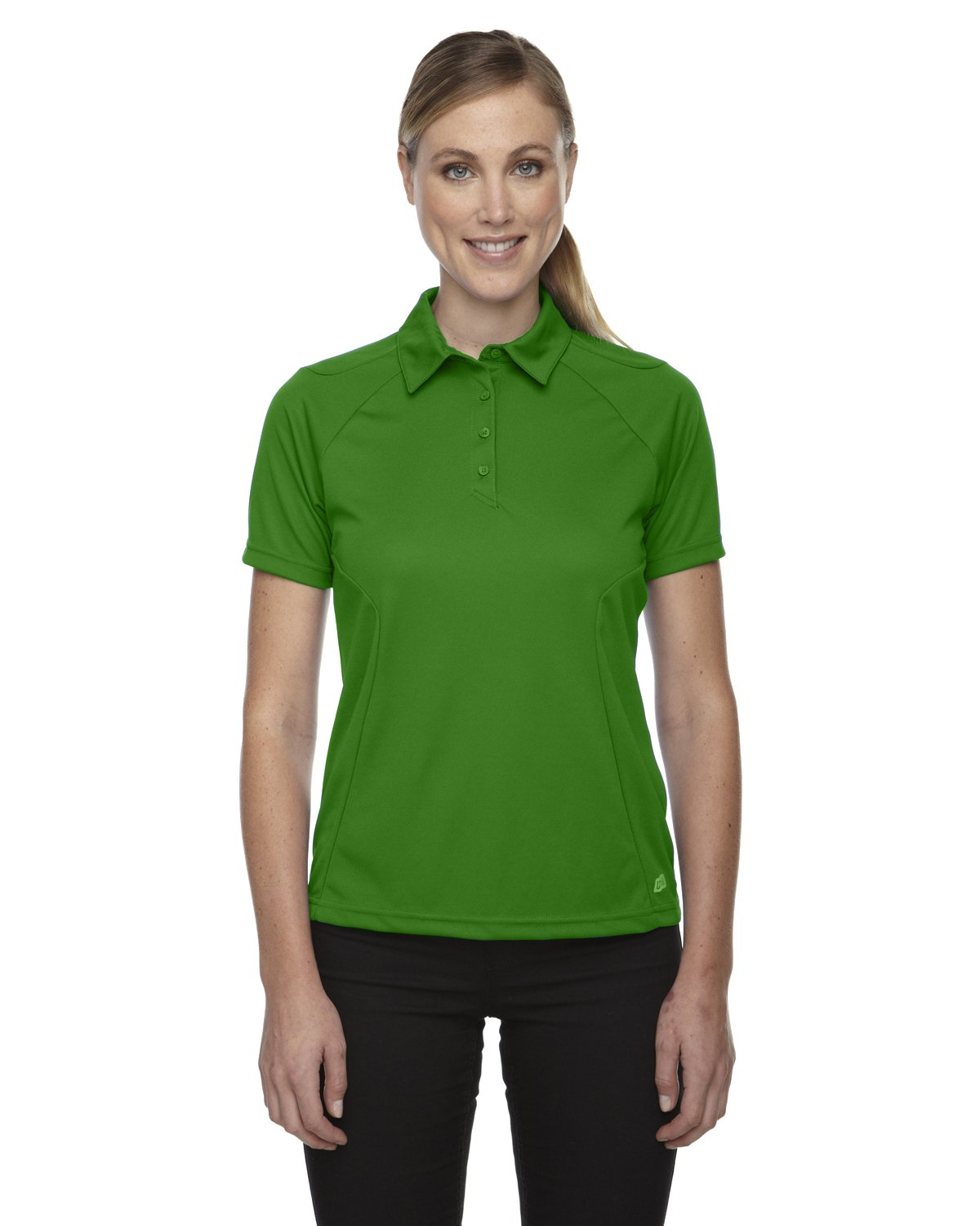 Ash City Womens Dolomite Performance Polo (XX-Large, Valley Green) by Ash City Apparel