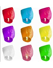 10pc kongming Lantern Wishing Lights Flying Lights Romantic Creative Gifts Safety Valentines Day Wedding Birthday
