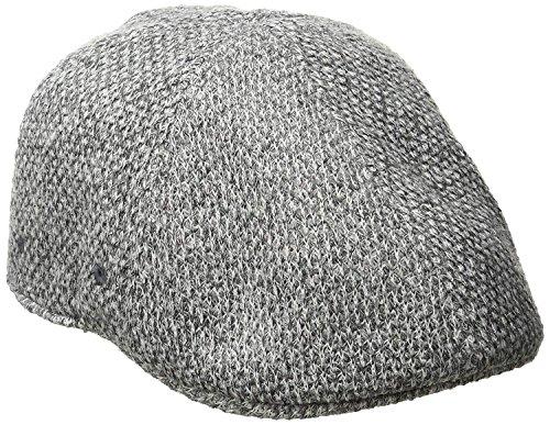 Kangol Pattern Flexfit Flat Cap, Tuck Stitch, Small/Medium ()