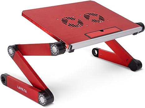 Lavolta ls-015rd - Mesa Plegable para Ordenador portátil con ...