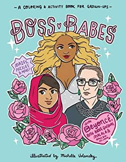 boss babes a coloring and activity book for grown ups - Beyonce Coloring Book