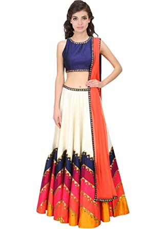 9b9f7b771a268 Amazon.com  New Designer Multi Colour Lehenga choli  Clothing