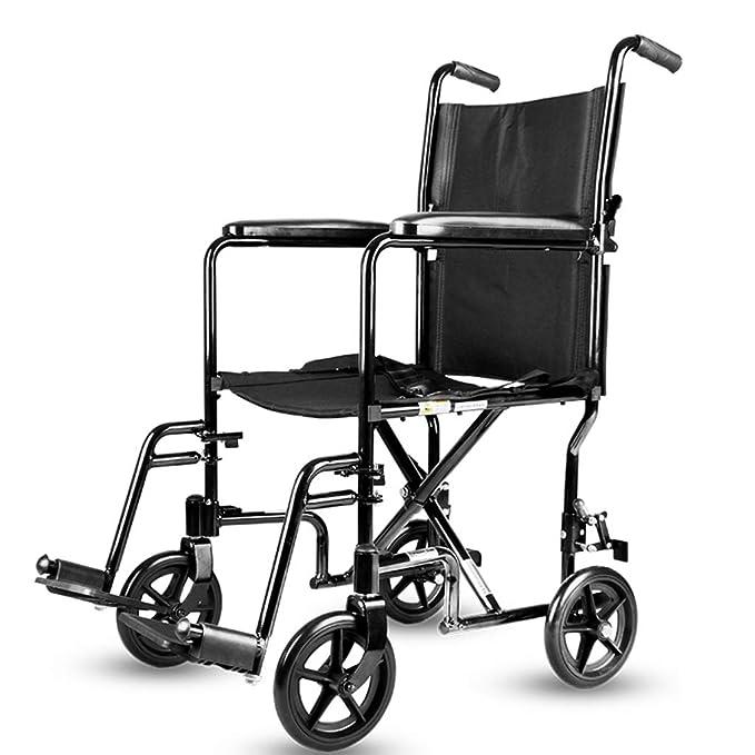 Sillas de ruedas Silla Plegable Empuje El Scooter Transporte ...