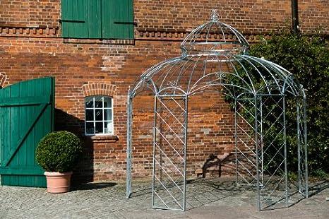 KUHEIGA - Pérgola de metal galvanizado en caliente, 340 cm ...