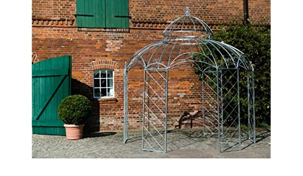 kuheiga Estable Carpa Diámetro 340 cm Metal Galvanizado Pergola ...