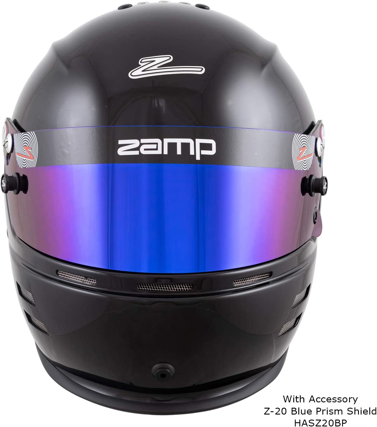 Zamp RZ-60 Aramid SNELL SA2020 Helmet Gloss Black XX-Large