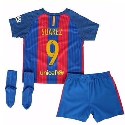 Amazon.com: 2016 – 2017 Barcelona Home Nike Baby Kit, 24/ 36 ...