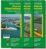 UNESCO-Welterbe - Oberes Mittelrheintal - Kartenset bestehend aus den Blättern Koblenz, Loreley-Boppard und Rüdesheim am Rhein /Bingen am Rhein (WR): ... Rheinland-Pfalz 1:15000 /1:25000)