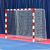 Forza Alu80 Competition Handball Goals | IHF Regulation Size 3m x 2m Handball Goal [Net World Sports] (Single, Red)