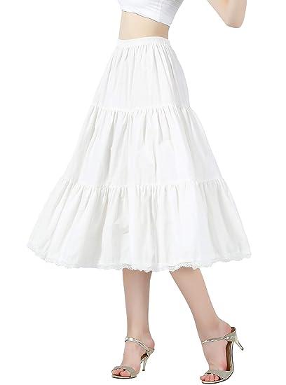 BEAUTELICATE - Extensor de Falda para Mujer (100% algodón, con ...
