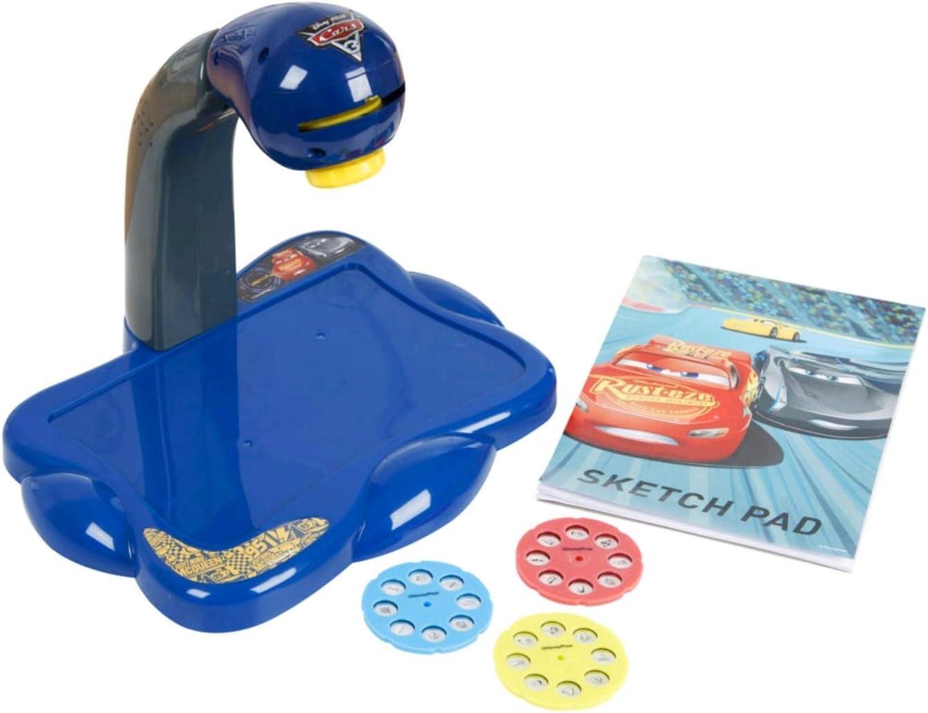 SAMBRO- Cars Proyector Portátil Infantil, Color Rojo (DSC8-Y4538 ...