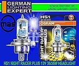 Osram HS1 64185NRP-01B Halogen Headlight Bulb (12V, 35W)