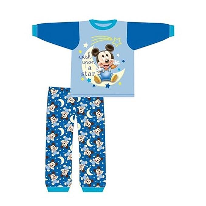DISNEY, MICKEY MOUSE - Pijama entero - para bebé niño: Amazon.es: Ropa y accesorios