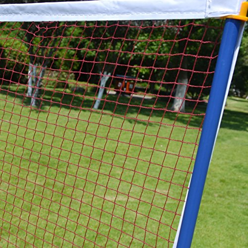 BenefitUSA Portable Training Beach Volleyball Tennis net Badminton with carrying bag by BenefitUSA (Image #1)