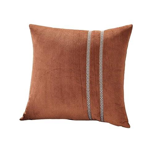 Amazon.com: LOKODO Funda de cojín de felpa para sofá ...