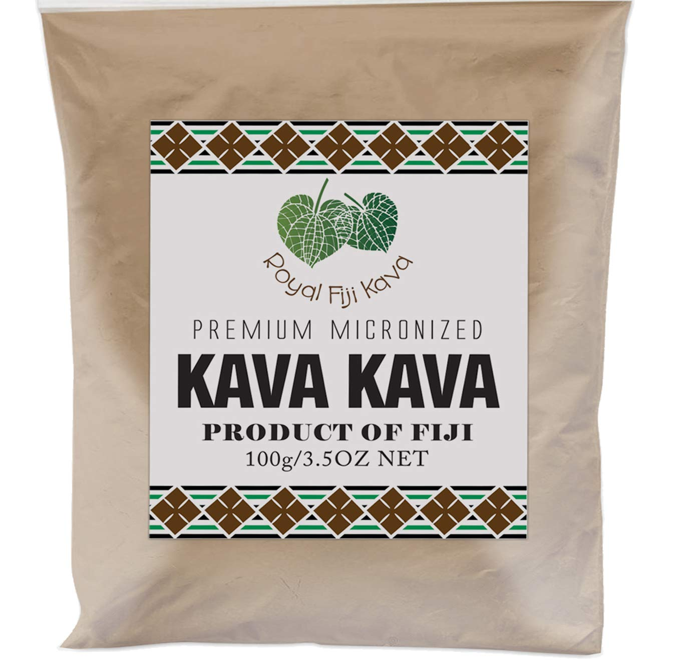 Royal Kava Kava Premium AAA Grade Noble Fijian Kava Root Powder High Strength Fijian Waka