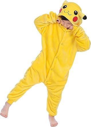 Pijama infantil Kigurumi de YAOMEI, unisex, pijama de franela con ...