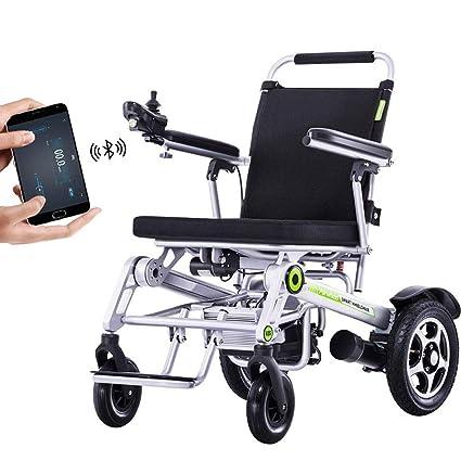 Amazon.com: DONGBALA - Silla de ruedas eléctrica con mando a ...